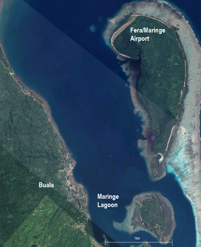 map of buala