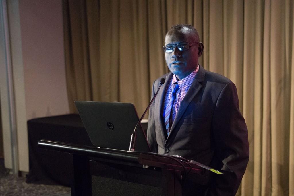 Honorable Permanent Secretary for Health for Solomon Islands Dr Tenneth Dalipanda