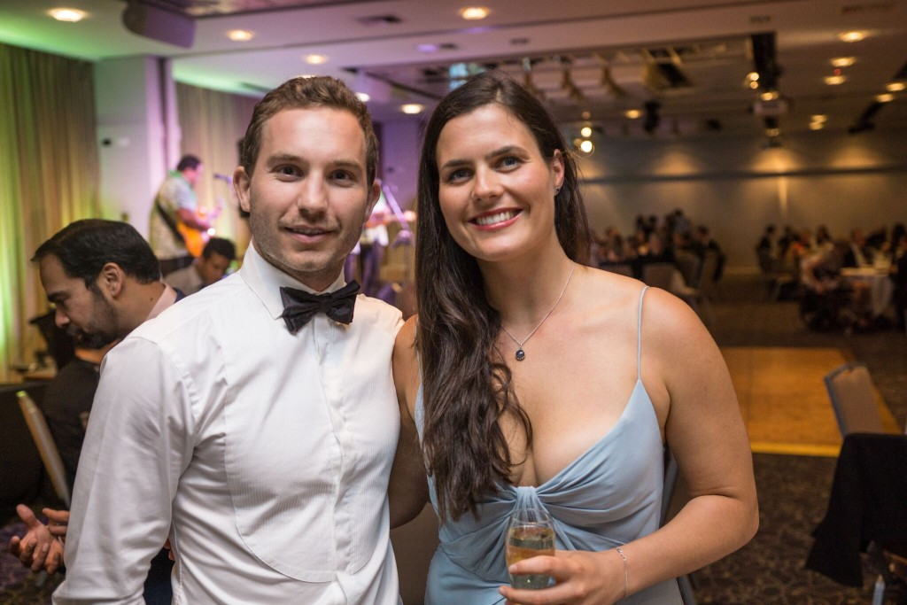 medical students Graeme Wertheimer and Ariah Steel