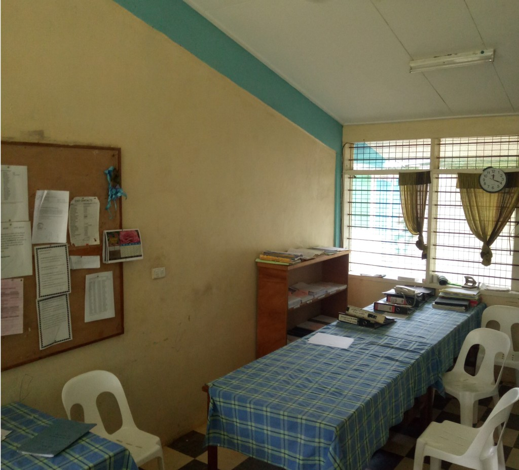 doctors room psychiatry ward
